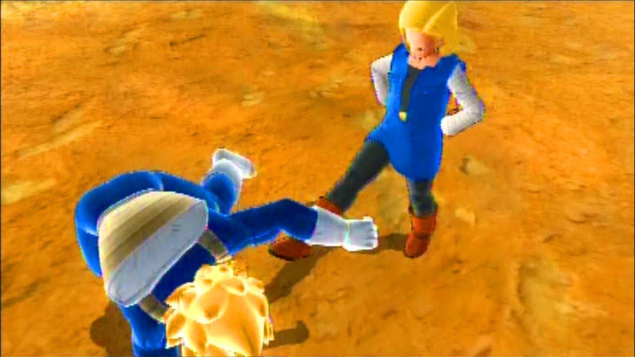 dragon ball raging blast 2 android 18 vs super saiyan