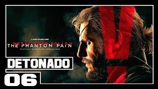 Metal Gear Solid 5 The Phantom Pain - Parte #6 Fuga da Barreira!! [Legendado pt-br]