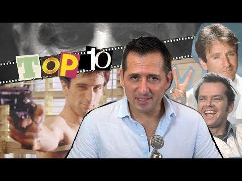 Mis 10 mejores actores
