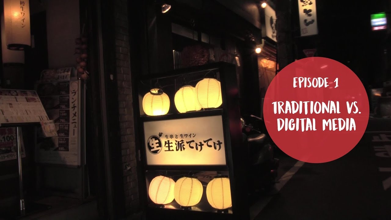 Interview-Serie #1: Traditional vs. Digital Media in Japan