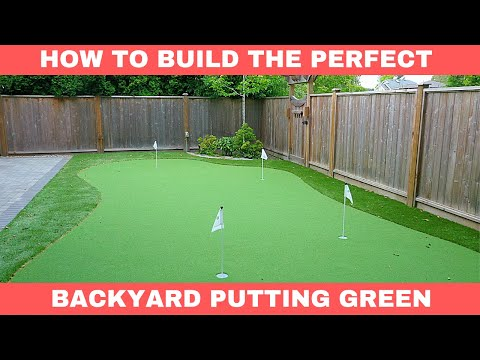 How To Build The PERFECT Home Putting Green - Behind The Scenes Tour