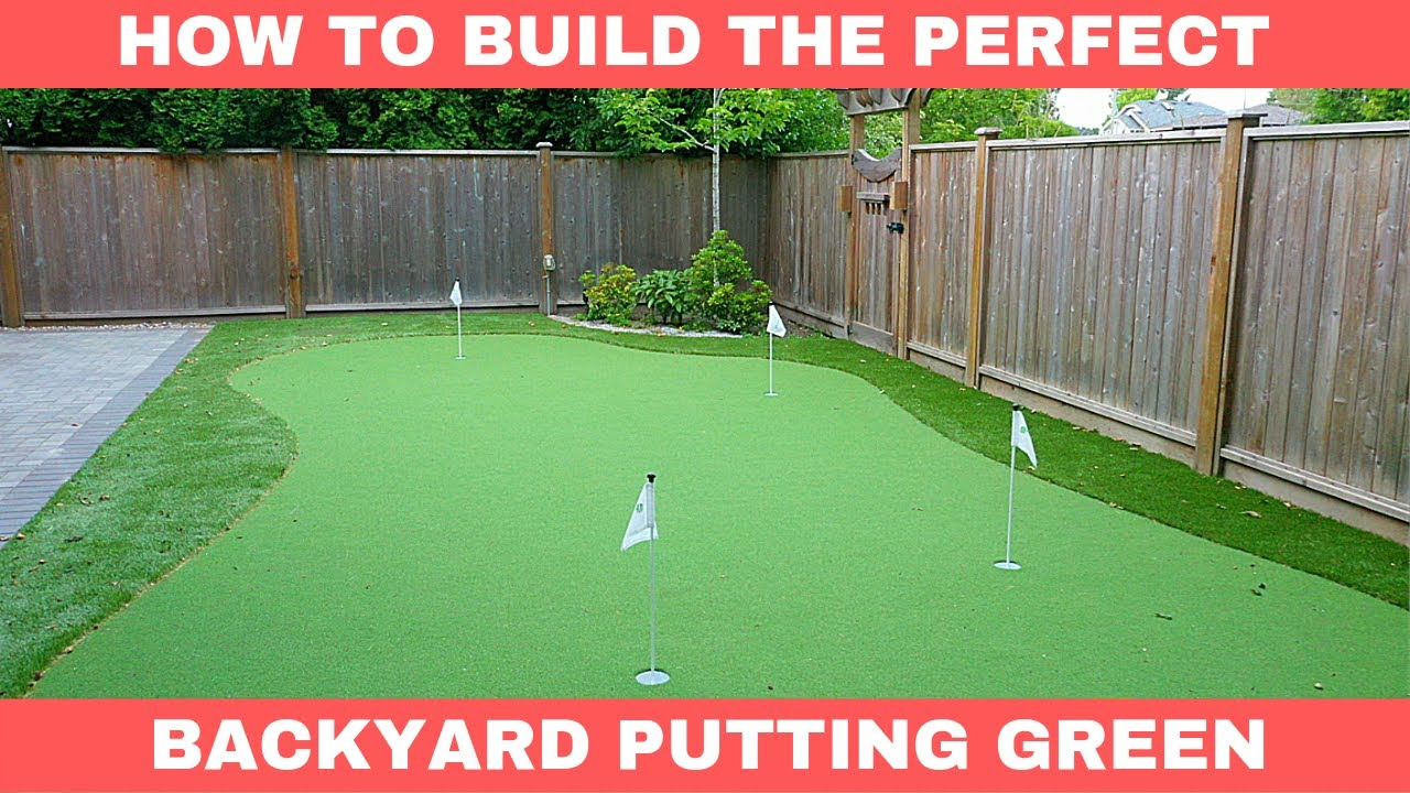 How To Build The Perfect Home Putting Green Behind The Scenes Tour Youtube