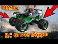 Build The WORLD'S BEST Tiny RC Grave Digger RC Monster Truck Car