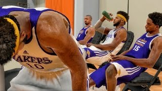 LIFTING WEIGHTS & HARD TEAM PRACTICE! NBA 2K17 My Career Gameplay Ep. 11