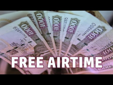 🤑 How to get unlimited airtime for FREE!