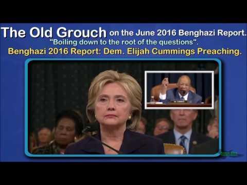 Benghazi 2016 Report Dem  Elijah Cummings Preaching. OGB 38 of 41.