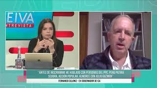 Fernando Cilloniz: Me reuní con Julio Guzmán y otros personajes - SET 25
