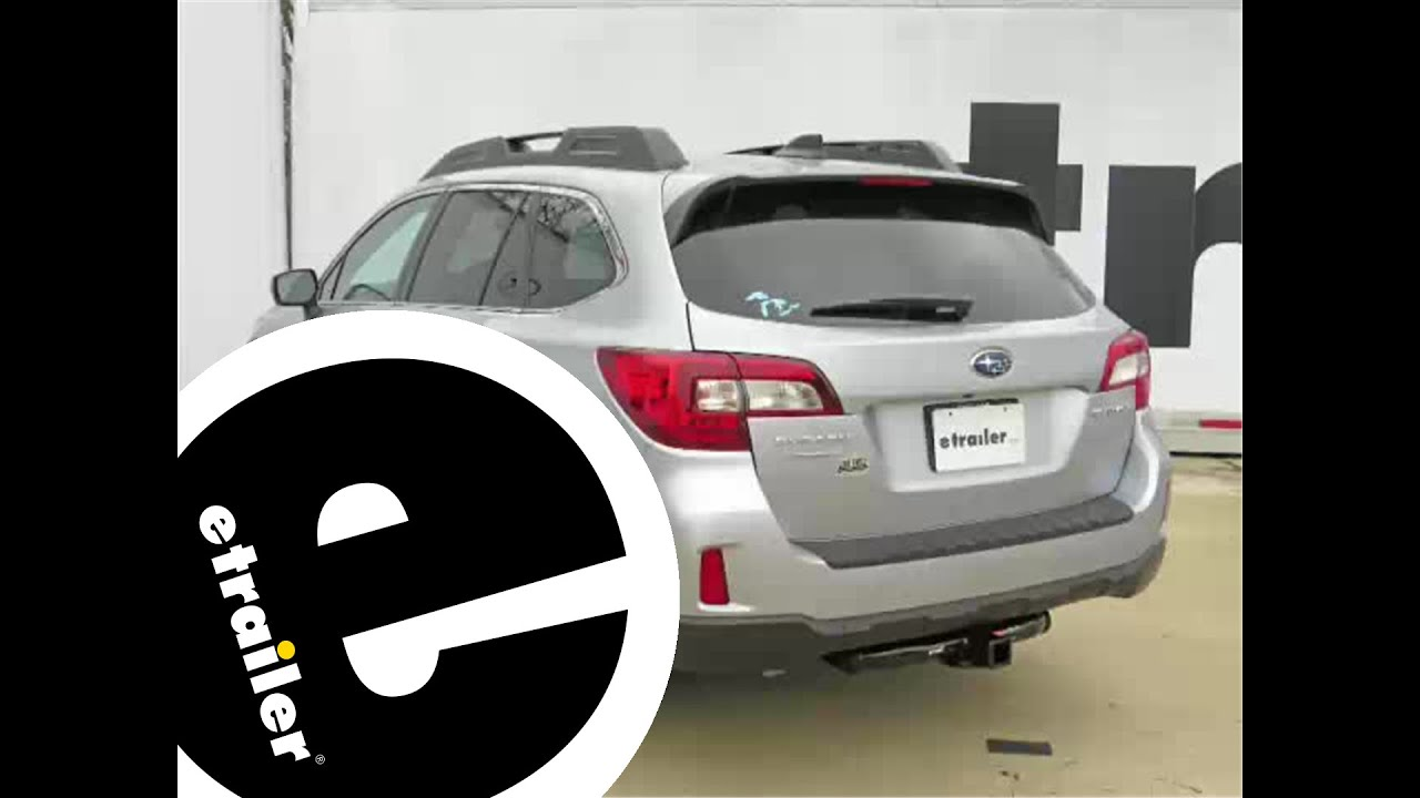 maxresdefault installation of a trailer hitch on a 2016 subaru outback wagon 2011 subaru outback trailer wiring harness at edmiracle.co