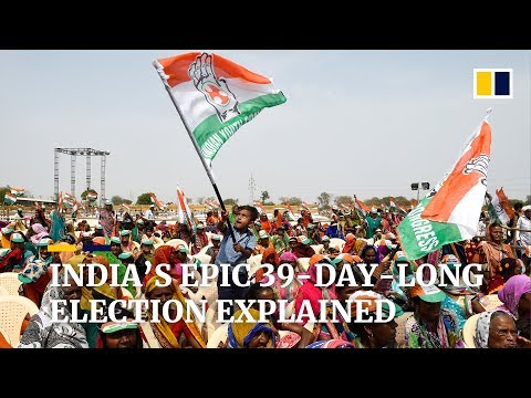 India in the midst of election, as the world's biggest democracy decides on the next government