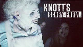 Knott's Scary Farm 2018 - Mazes, Scare Zones, and Rides VLOG