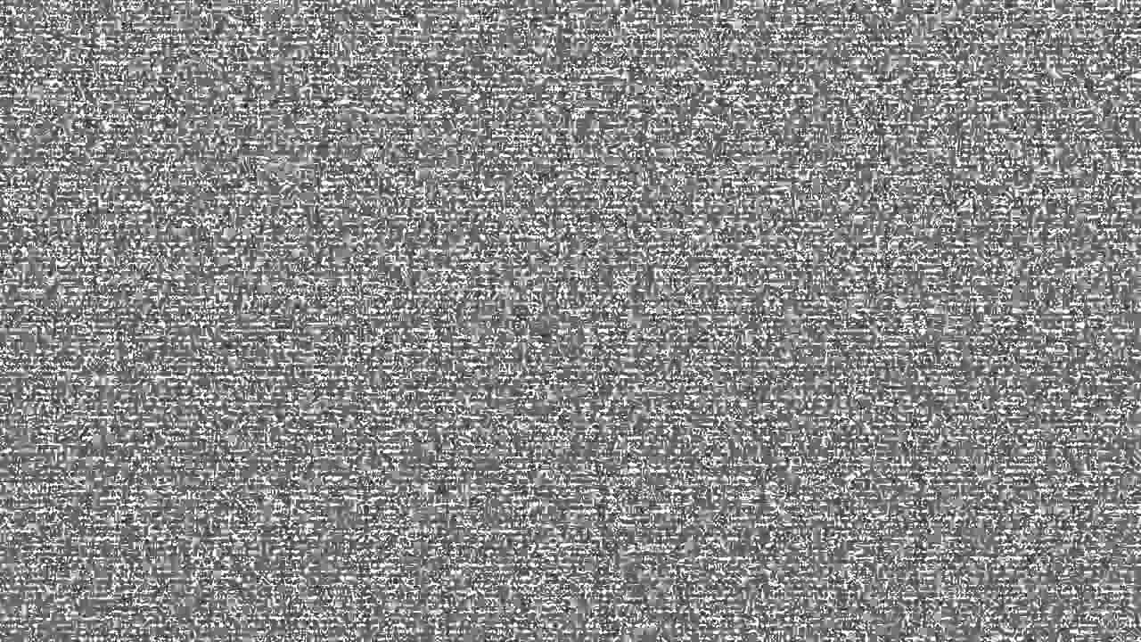 TV static noise HD 1080p 720p