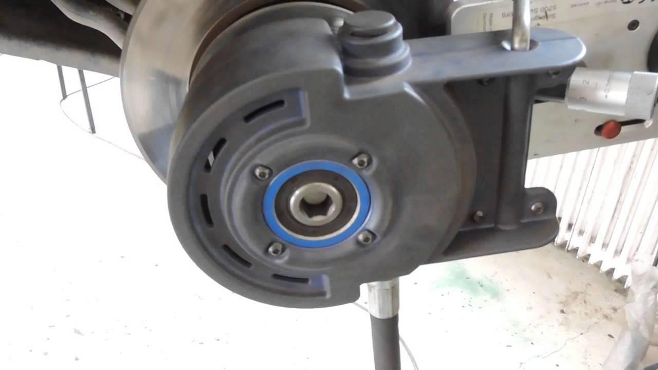 Motor féktárcsa szabályozás