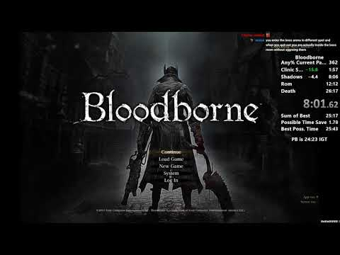 Bloodborne Any% Speedrun In 24:09 IGT (World Record/Current Patch)