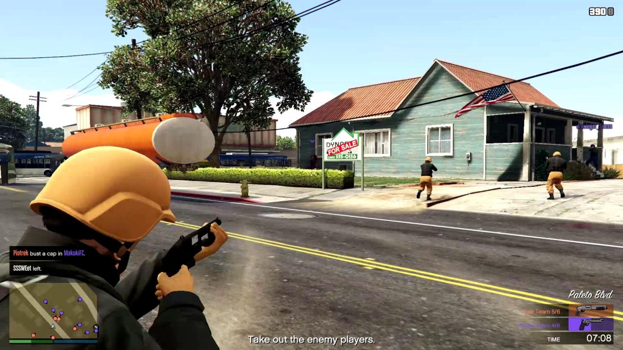 GunGame სახალისო თამაში (GTA 5 Online ქართულად)