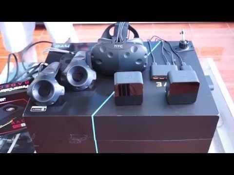 วิธี Set Up  หรือ วิธีเล่น HTC VIVE ตั้งแต่ติดตั้งเครือง VR และเครื่องคอม