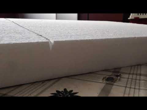 styropor schneiden schnell und einfach youtube. Black Bedroom Furniture Sets. Home Design Ideas