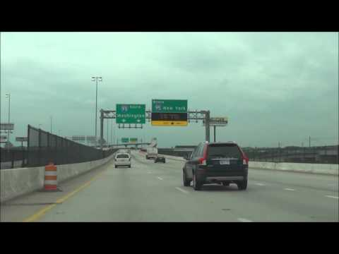 Maryland - Interstate 395 South in Baltimore - Clinched (8/7/15)