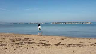 Il mare di ottobre a Termoli