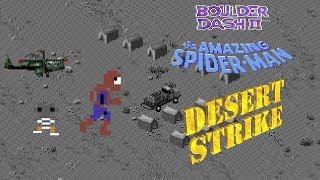 Boulder Dash II, The Amazing Spiderman, Desert Strike - RetroArcade #18