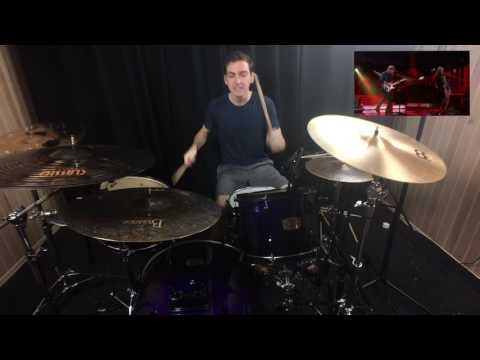 Beyoncé, Ed Sheeran & Gary Clark Jr. Tribute Stevie Wonder (Drum Cover)