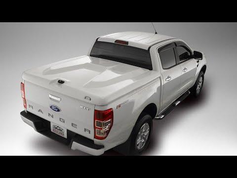 ฝาครอบรถกระบะ Ford All Ranger สีขาว สีเดียวกับตัวรถ สวยแกร่ง