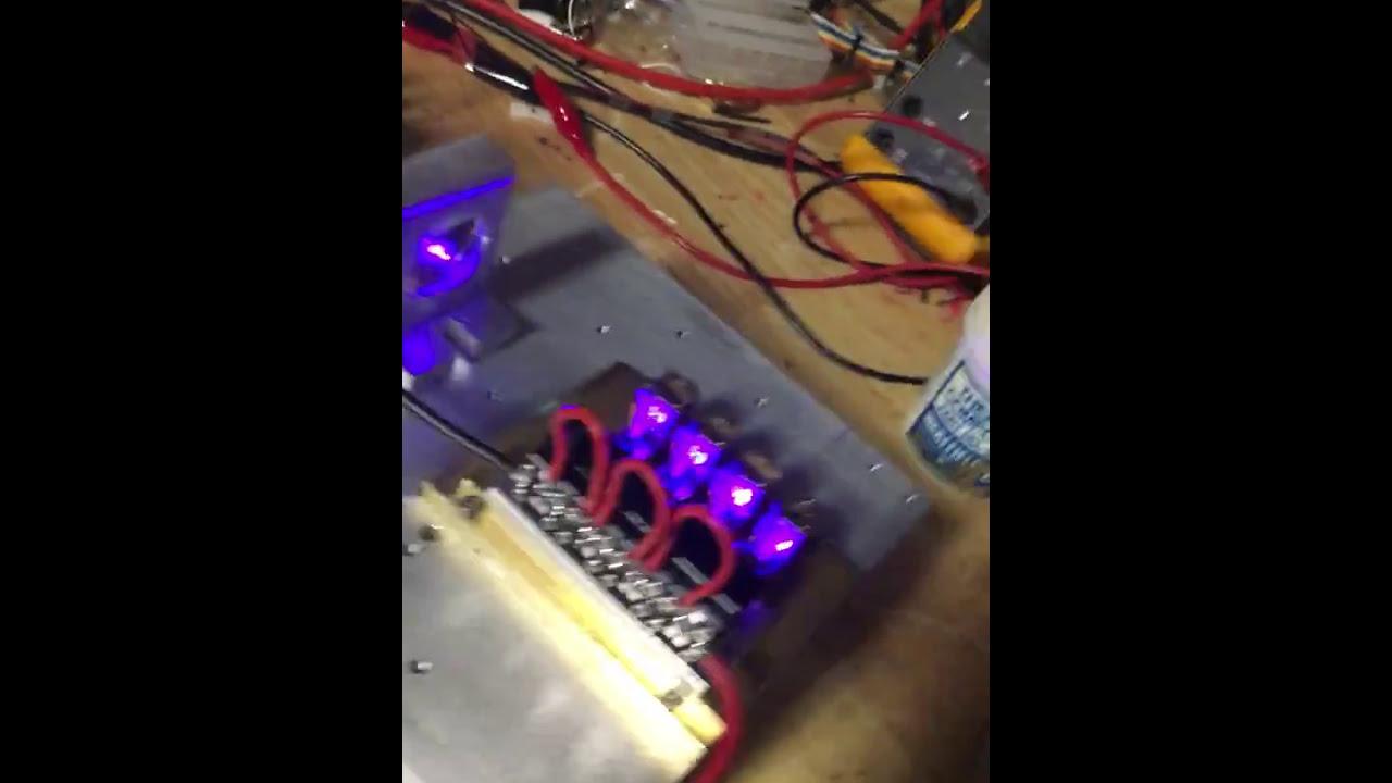 24 watts of blue! NUBM44 laser diodes