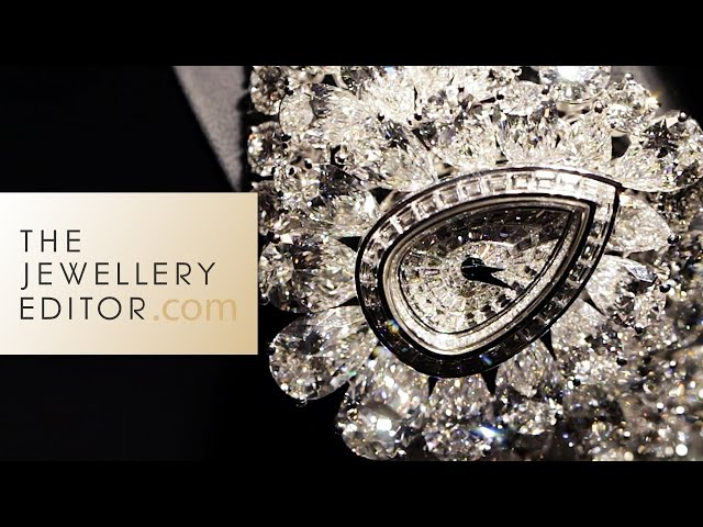 The Most Amazing Diamond Watches in the World