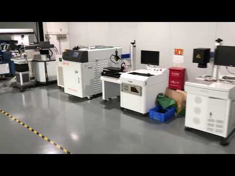 Laser welder and engraver workshop in Shenzhen --- OPTIC TECH