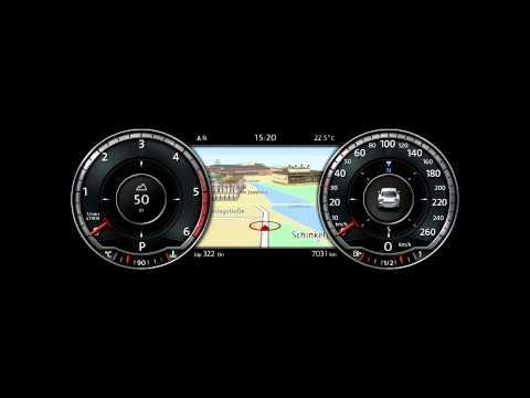 2015 VW Passat Digital Instrument Cluster