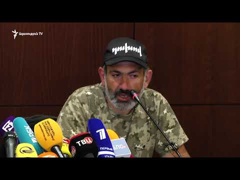 Nikol Pashinyan's press conference for foreign media