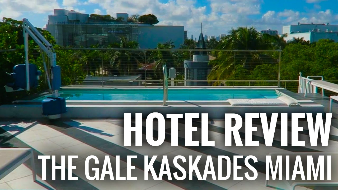 Hotel Room Review South Beach Miami The Gale Kaskades Suites