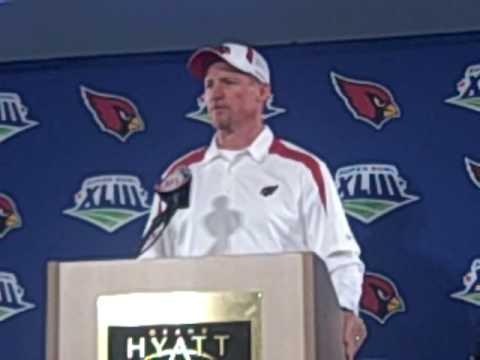 Ken Whisenhunt at Super Bowl 1/29/09