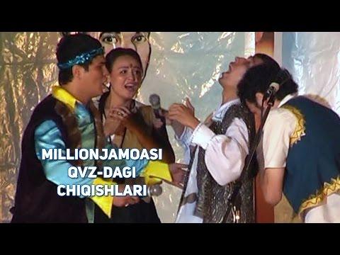 Million Jamoasi - QVZ-dagi Chiqishlari