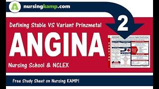 Stable angina variant prinzmetal angina nursing kamp 2020