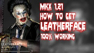 MKX 1.21. How To get Pretty Lady Leather Face. Horror team pack.100% Working. MKX mobile Glitch