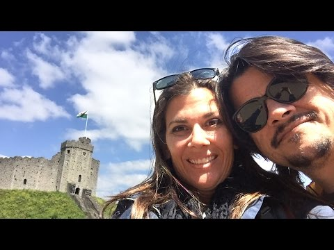 Cardiff Castle Wales Travel VLOG