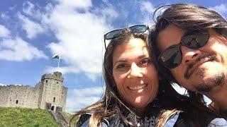 Cardiff Castle Wales Travel VLOG