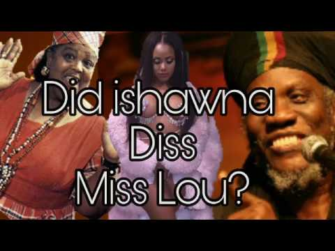 "Mutabaruka ""Speak Out"" After Ishawna Diss Miss Lou [ Calling har Outfit Tablecloth ]"