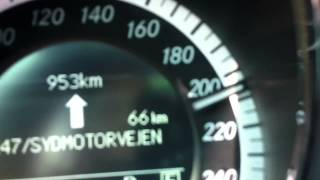 mercedes benz e350 w211 amg 260 km h top speed