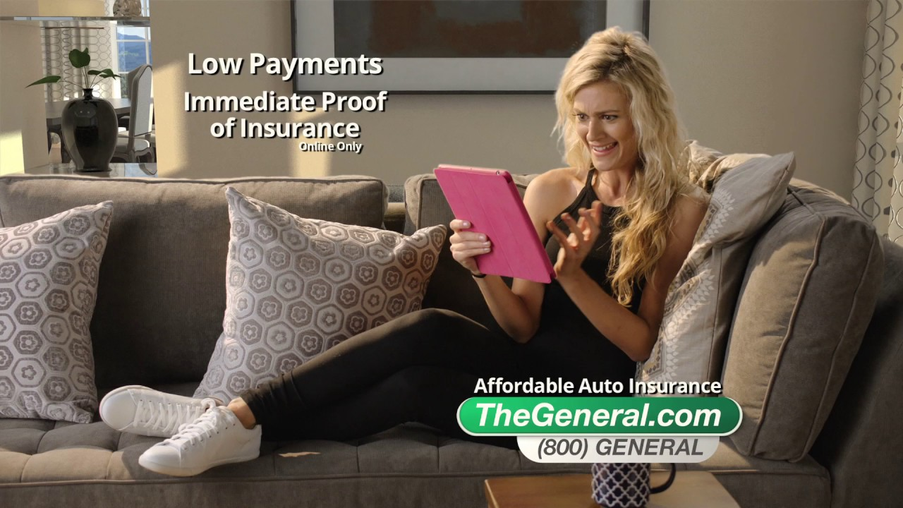 The General Auto Insurance Quote The General Insurance  Swipe Right  Youtube