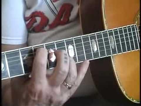 Blackbird Guitar Tutorial in open G tuning