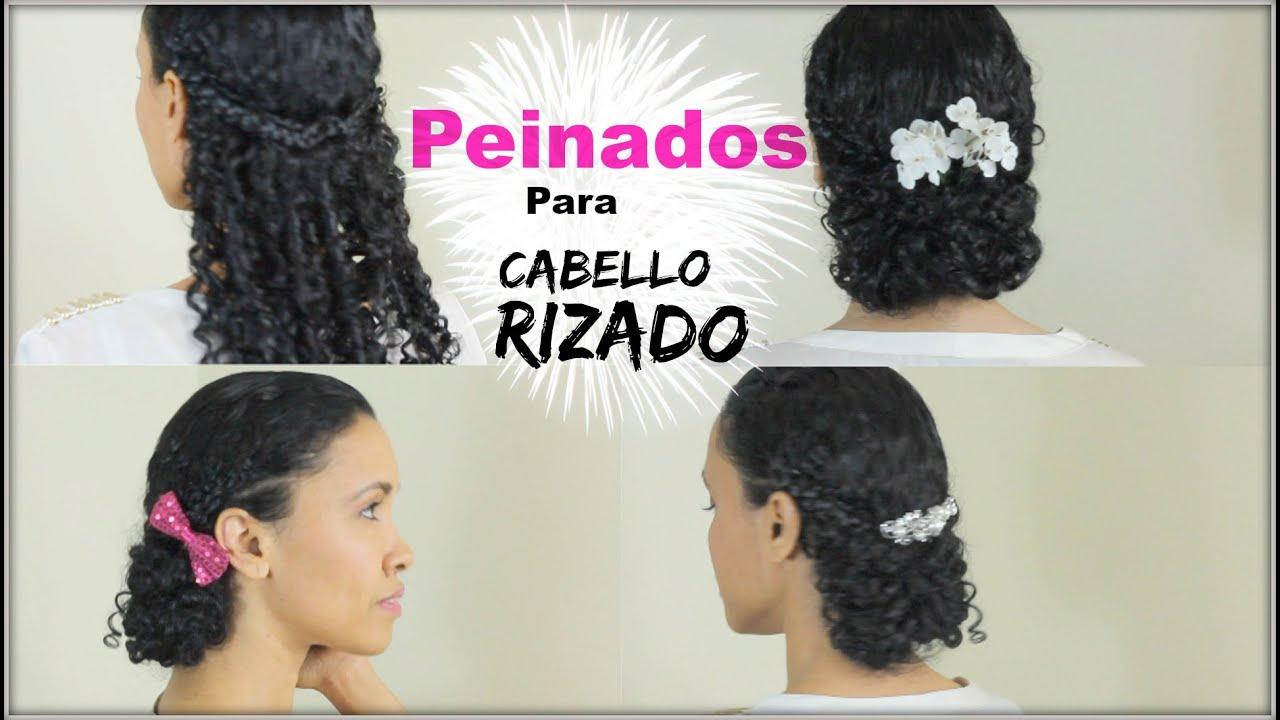 Peinados para el cabello rizado birma bibi youtube - Como hacer recogidos para bodas ...