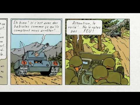 """Extrait de """"Hergé à l"""