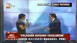 İstanbulsporlu Futbolcunun Uçak Kaçırılma röportajı