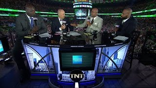 Cavaliers vs Celtics Game 1 Halftime Report  | Inside The NBA | May 17, 2017