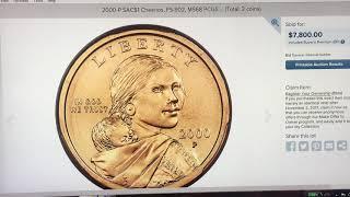 RARE SACAGAWEA DOLLAR SELLS $7,800!  WHAT IS A CHEERIOS DOLLAR?