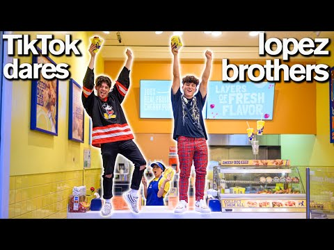 Funny TIKTOK CHALLENGE Brother Vs Brother Ft Hype House Lopez Brothers