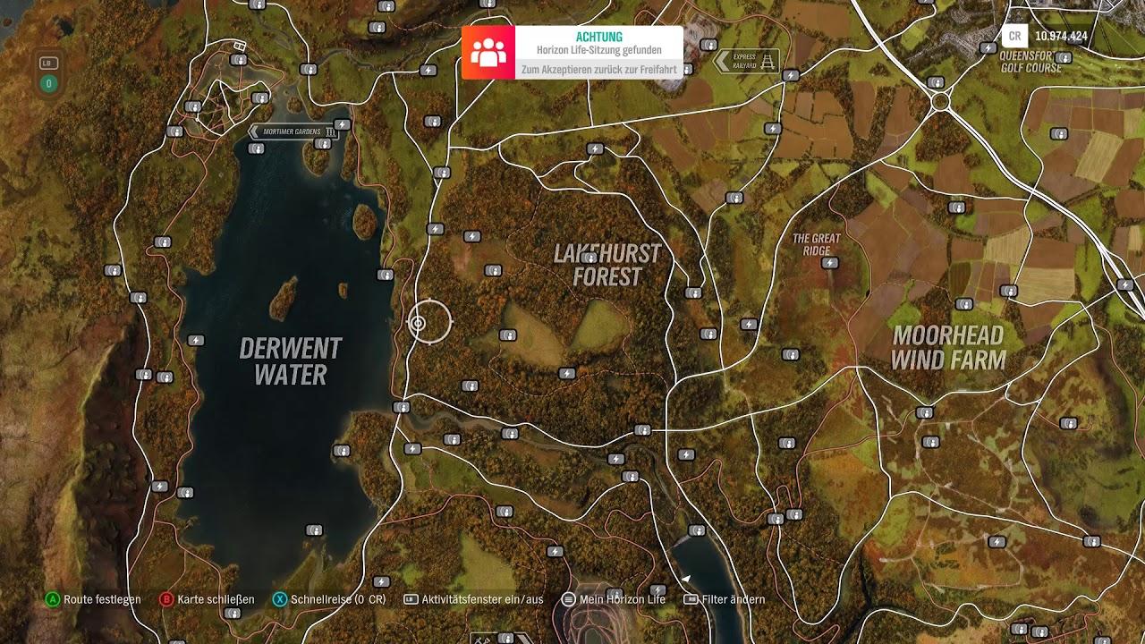 Forza Horizon 4 Alle Bonustafeln Auf Der Karte Youtube