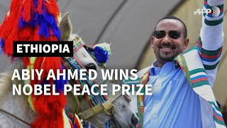 PROFILE - Abiy Ahmed, Ethiopian Prime Minister and Nobel Peace Prize recipient | AFP