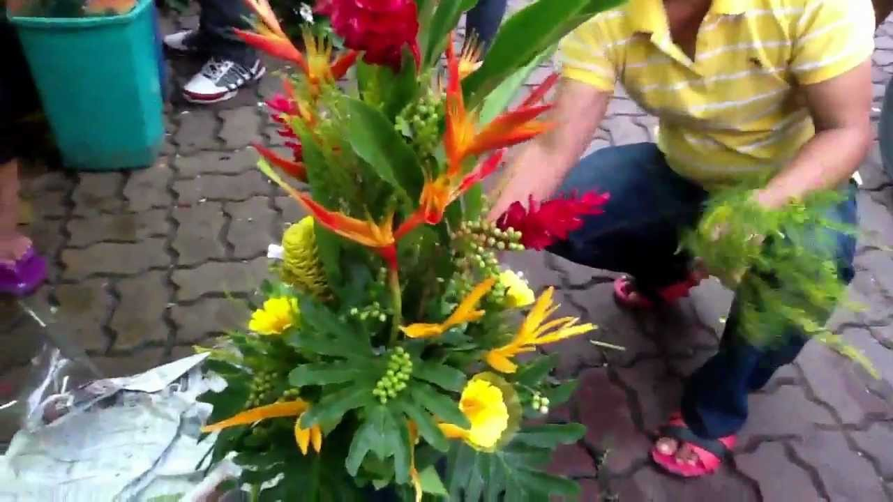Your Manila Wedding Events Emcee At Dangwa Flower Market Youtube